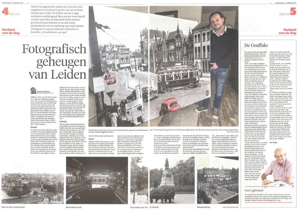Eerbetoon aan de eerste persfotograaf van Leiden